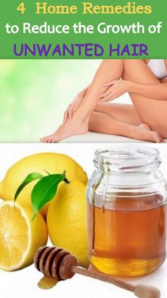 4 Home Remedies to Reduce the Growth of Unwanted Hair on your Body http://punktat.at