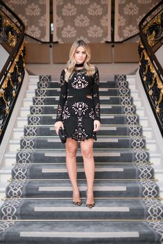 Ecstasy Models — ecstasymodels: Black Night Keep reading Gossip Girl Fashion, Vogue Fashion, Look Fashion, Casual Dresses, Short Dresses, Fashion Dresses, Moda Gossip Girl, Caroline Daur, Latest Fashion For Women