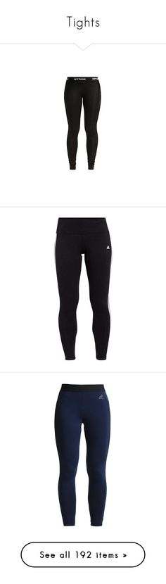 """""""Tights"""" by janay1206 ❤ liked on Polyvore featuring pants, leggings, low rise pants, ivy park leggings, ivy park, low rise trousers, low rise leggings, bottoms, adidas and momma"""