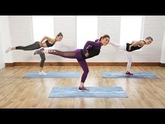 The Ultimate 30-Minute Cardio Pilates Workout! - YouTube http://amzn.to/2rgj4iw