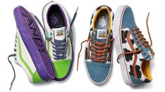 It's been almost 21 years since Toy Story made it totally okay to miss all the toys you grew up playing with; it's one of those rare perfect movies that's impossible not to love. But is there room in your heart for this forthcoming line of Toy Story-themed sneakers from Vans as well? Cl Shoes, Vans Shoes, Me Too Shoes, Vans Toy Story, New Toy Story, Disney Vans, Disney Outfits, Disney Shoes, Disney Clothes