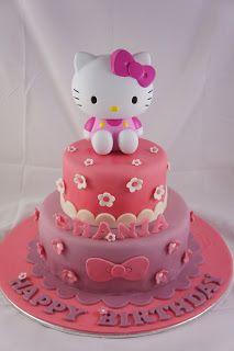 Birthday cake Hello Kitty ✅ Best 79 ideas of Birthday cake Hello Kitty 2019 with our website HD Recipes. Hello Kitty Cake Design, Torta Hello Kitty, Hello Kitty Birthday Cake, Pink Birthday Cakes, Happy Birthday, Cake Pink, Hello Kitty Toys, Mickey Cakes, Pretty Cakes