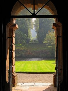 Giacomo Leoni - Lyme Park, Cheshire, England by Eszter Móczár Lyme Park, Beautiful Places, Beautiful Pictures, English Countryside, Town And Country, Garden Gates, Plein Air, Windows And Doors, Architecture