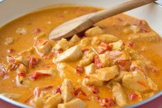 Paprikarahmhuhn – Rezept A delicious and delicious recipe for the next Sunday is the cream chicken. Steak Recipes, Seafood Recipes, Crockpot Recipes, Chicken Recipes, Recipe Chicken, Vegetable Recipes, Vegetarian Recipes, Italian Chicken Dishes, Cheesecake
