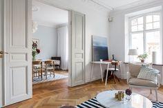 Prachtig Scandinavisch appartement met eetkamer ensuite - Roomed