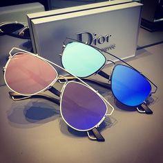 Dior Technologic em novas cores chegando nas Óticas Wanny! #oculosdior #dior #oculos #sunglasses #rosa #azul #oticaswanny #online #original #oficial