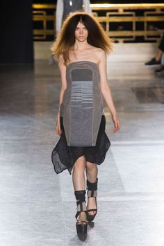 """<p tabindex=""""-1"""">Rick Owens spring 2015 collection show. Photo: Imaxtree</p>"""
