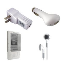Amazon Kindle 2 2nd Generation USB Car Charger USB Wall  Travel Charger  -- You can find more details by visiting the affiliate link Amazon.com.