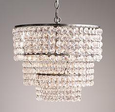 Soho Crystal Large Chandelier - paris bedroom light fixture