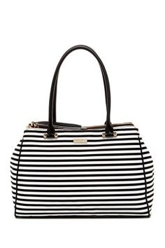 kensington striped tote