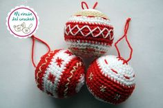 Tutorial De Amigurumis Navideños : Tutorial amigurumi bola navideña youtube bolas navideñas