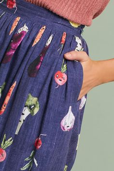 Elisabeth Printed Skirt