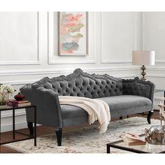 Online Ping Bedding Furniture Electronics Jewelry Clothing More Grey Sofasgrey Velvet