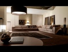 Awesome Beige Leather Sofa