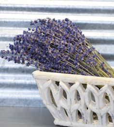 Not only does lavender smell amazing, it's so beautiful too. Especially this Super Blue Royal Velvet Lavender Bundle. Lavender is great in wedding bouquets and boutonnieres, and adds to any home decor style. Chic French Country, American Country Farmhouse, Modern, Casual... You can't go wrong 😉 Our lavender is field cut and dried, fragrant, and lasts much longer than the season. DriedDecor.com #lavender #driedflowers #homedecor #weddingflowers #bouquetofflowers #driedlavender