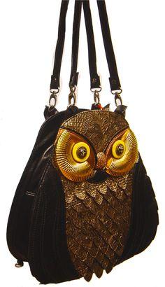 Owl Bag: Utech Jeans Co. $129.00