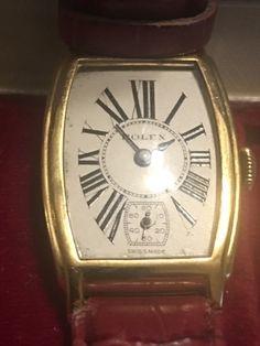 Vintage Rolex, Vintage Watches, Old Watches, Watches For Men, Antique Clocks, Chronograph, Pocket Watch, Art Nouveau, Vintage Decor
