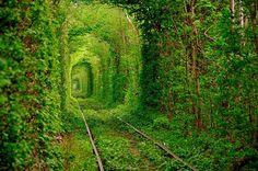 Túnel del amor, Ucrania