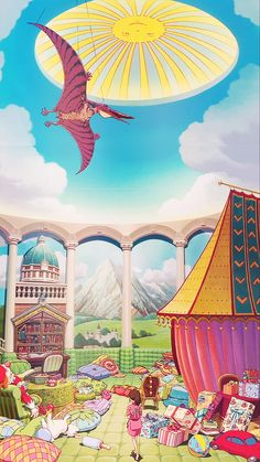 I love this room from Spirited Away so so so much >.< It is like the best nursery ever and there are thousands of pillows ^u^ Studio Ghibli Art, Studio Ghibli Movies, Hayao Miyazaki, Chihiro Y Haku, Castle In The Sky, Estilo Anime, Another Anime, Spirited Away, Howls Moving Castle