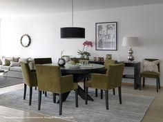 Cross rundt spisebord - Brubakken Home AS Conference Room, Dining Table, House, Furniture, Design, Home Decor, Houses, Home, Dinning Table