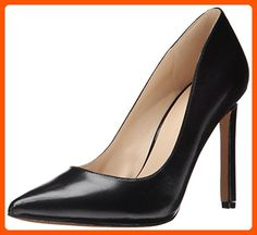 Nine West Women's Tatiana Dress Pump,Black Leather,8 M US - All about women (*Amazon Partner-Link)