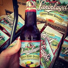 Leinenkugel's Lemon Berry Shandy - I'm not a beer drinker, but I actually like this one!