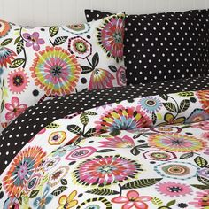 Riley's new comforter and sheets. PBteen