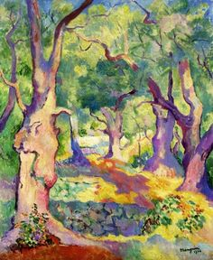Paintings by Henri Manguin French Fauvist Artist fauvism Henri Matisse, Art And Illustration, Figure Painting, Painting & Drawing, Landscape Art, Landscape Paintings, Art Paintings, Art Fauvisme, Fauvism Art
