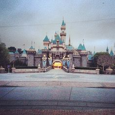 Calm before the storm. workgrind 6amshift @ Sleeping Beauty Castle