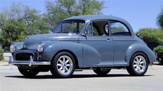 1957 MORRIS MINOR 2 DOOR COUPE - Barrett-Jackson Auction Company Retro Cars, Vintage Cars, Antique Cars, Vintage Items, Austin Cars, Automobile, Kei Car, Japanese Sports Cars, Luxury Rv