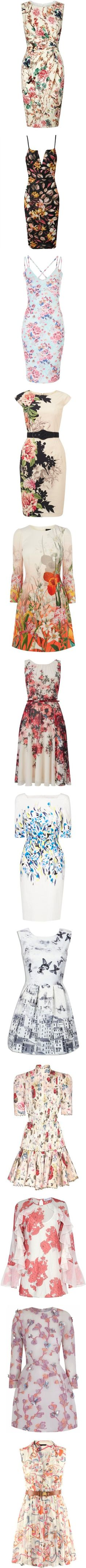 MY SPRING DRESS COLLECTION by purplerose27 on Polyvore featuring women's fashion, dresses, vestidos, ruched jersey dress, sleeveless jersey dress, white sleeveless dress, floral dresses, sleeveless dress, white deep v neck dress and white floral print dress
