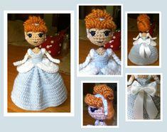 Cinderella Amigurumi by DarkWater9.deviantart.com on @DeviantArt