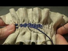 Fabric Manipulation, Smocking, Weaving, Quilts, Youtube, Hand Fan, Home Appliances, Bee House, Manualidades