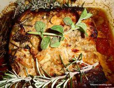 Rôti de porc caramélisé au miel aux légumes de saison