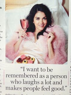Cecily Strong in Glamour. TRUTH!