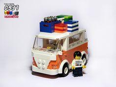 LEGO VW Camper - Road Trip Edition by NaNeto, via Flickr
