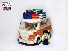 LEGO VW Camper - Road Trip Edition by NaNeto, via Flickr