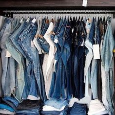 Organize your closet for less with these dollar store closet organization ideas. From organizing your bedroom closet to your cleaning closet, there are plenty of cheap organizing ideas for your home. Closet Hacks, Closet Organization, Clothing Organization, Organization Ideas, Household Organization, Organizing Hacks, Storage Hacks, Storage Ideas, Closet Bedroom