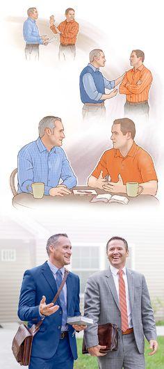 Um irmão procura várias vezes o outro irmão para resolver um problema. Depois de fazer as pazes, eles trabalham juntos no campo