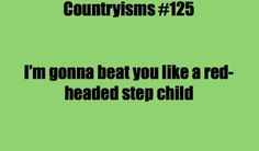 Countryisms Southern Sayings Ouch!