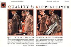 Kuppenheimer Saturday Evening Post 1927