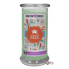 Congratulations Graduate - Jewelry Greeting Candles