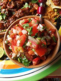 "Pico de Gallo ""Salsa Fresca"" - Hispanic Kitchen"