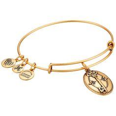 Alex and Ani Key to Life Charm Bangle Bracelet ($28) ❤ liked on Polyvore featuring jewelry, bracelets, charm bangle, alex and ani, silver jewellery, charm jewelry and bangle charms