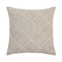 Maya Natural 45x45cm Cushion