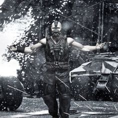 Bring it? No prob. Tom Hardy as Bane: Evil never looked so HOT.
