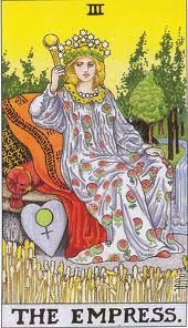 The EMPRESS. Action, Plan, Undertaking Movement in a matter, Initiative; Reversed: Inaction, Frittering away of power, Want of Concentration Vacillation.