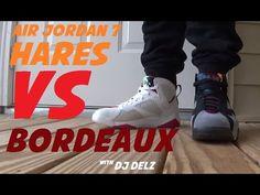 5ae951532bc0bf Air Jordan 7 Bordeaux VS Hare Sneakers  PickOne With  DjDelz