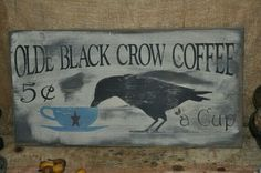Crow Sign board