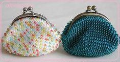 先日、紹介したかわいいビーズのがま口・・・今日は編み方見せちゃいます。編み方が中心なので、目数などは自分の編んでみたいものの編み図等を参考にしてチャレンジ...